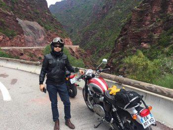 Balade guidée en moto