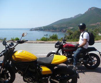 Balade moto Ducati