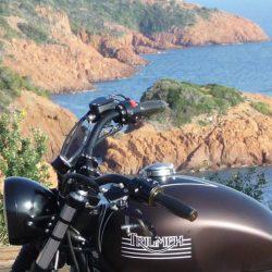 Balade moto Esterel