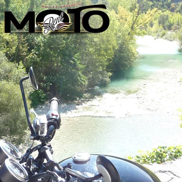 Balade moto les Gorges
