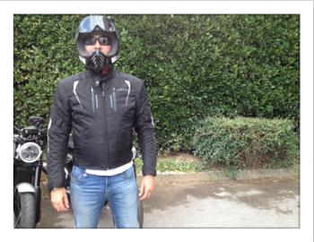 Blouson location moto
