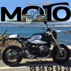 French Riviera BMW Motorbike rental