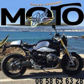 French Riviera BMW Motorbike rental