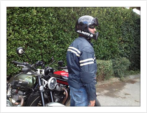 Location blouson moto Cannes