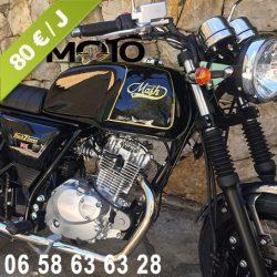 Location moto 125 Alpes-Maritimes