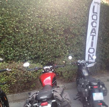 Location moto avec sacoches