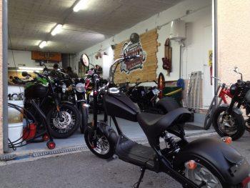 Mougins location moto électrique