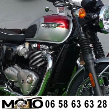 Triumph T120 rental French Riviera